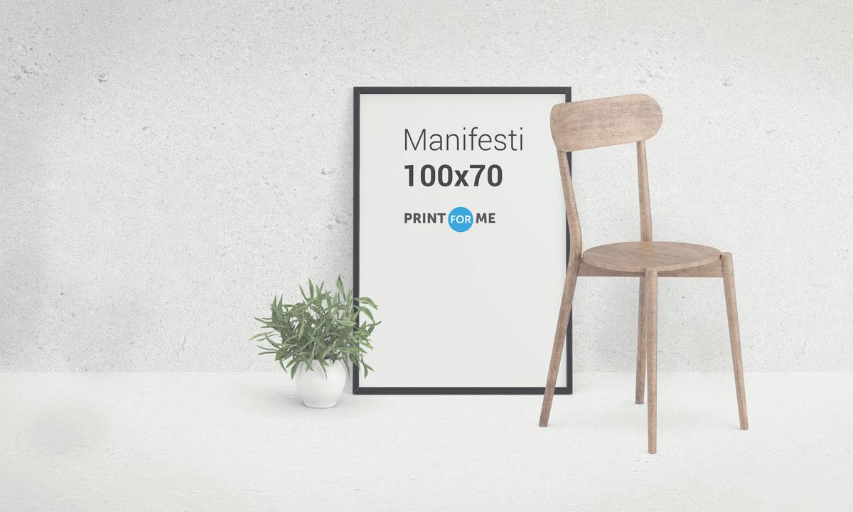 100 Manifesti 70x 100 cm