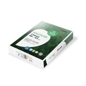 Risma A4 di carta riciclata al 100%